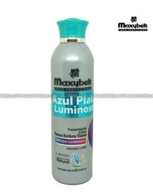 Maxybelt Tratamiento Color Azul Plata 200ml