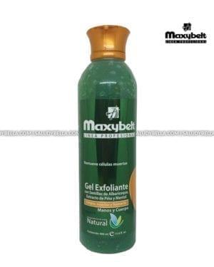 Maxybelt Gel Exfoliante Con Semillas De Albaricoquer 400ml